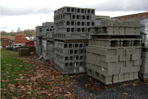 concrete building blocks stony run supply